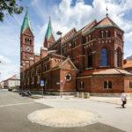 Außenansicht der Franziskanerkirche in Maribor
