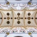 Deckengewölbe in der Franziskanerkirche in Maribor