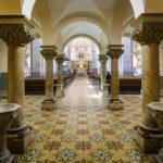 Säulengang in der Franziskanerkirche in Maribor
