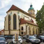 Außenansicht der Kathedrale von Maribor