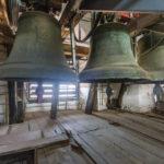 Glocken im Kirchturm der Kathedrale von Maribor