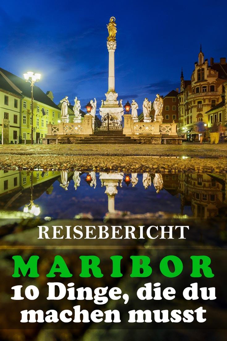 Maribor in Slowenien: Reisebericht mit allen Sehenswürdigkeiten, den besten Fotospots sowie allgemeinen Tipps und Restaurantempfehlungen.
