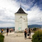 Die Kappelle auf dem Piramida (Pyramidenberg) in Maribor