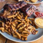 Spareribs bei Jack & Joe Steak and Burger Club in Maribor