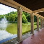 Der erste der Drei Teiche im Stadtpark von Maribor