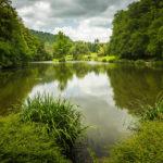 Der zweite der Drei Teiche im Stadtpark von Maribor