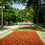 Promenade im Stadtpark von Maribor