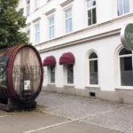 Eingang zum Weinkeller Vinagova vinska klet in Maribor