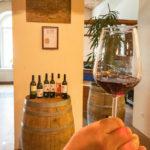 Weinverkostung im Weinkeller Vinagova vinska klet in Maribor