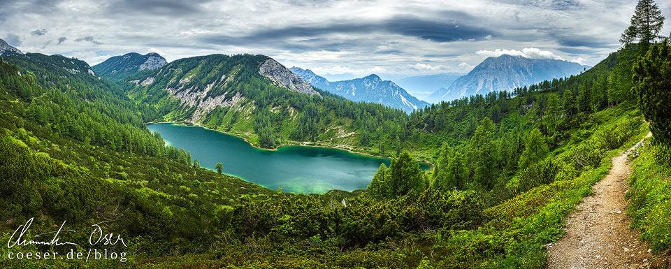 Steirersee am 6-Seen-Wanderweg auf der Tauplitzalm