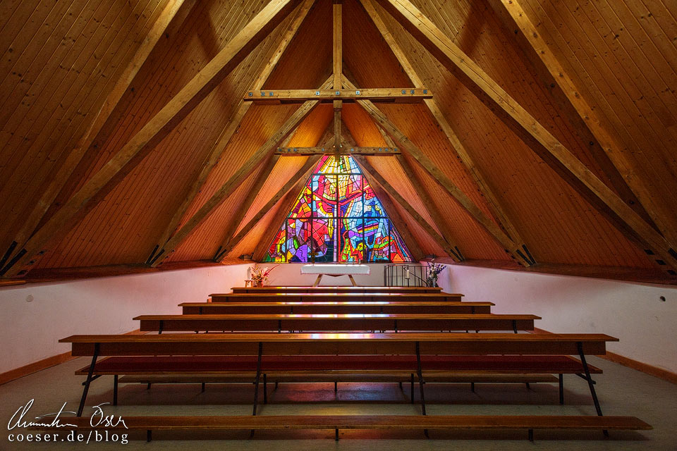 Kirche Heiligste Dreifaltigkeit am 6-Seen-Wanderweg auf der Tauplitzalm