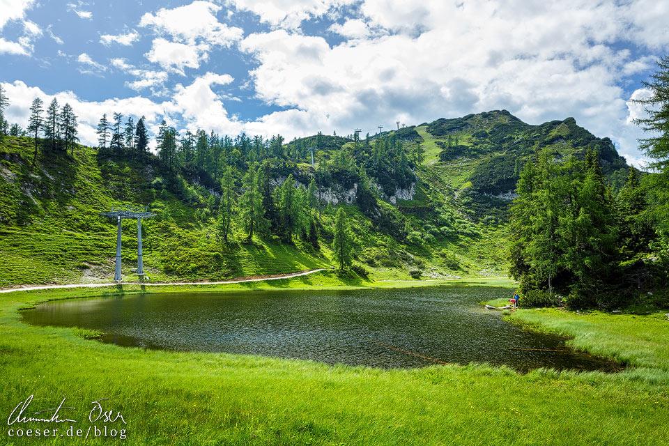 Krallersee am 6-Seen-Wanderweg auf der Tauplitzalm