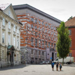 Bibliothek von Jože Plečnik in Ljubljana