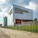 Außenansicht der Brauerei Union in Ljubljana