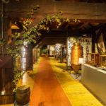 Ausstellungsbereich während einer Führung durch die Brauerei Union in Ljubljana