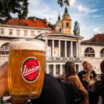 Das Premier Pub an der Uferpromenade Petkovškovo nabrežje in Ljubljana
