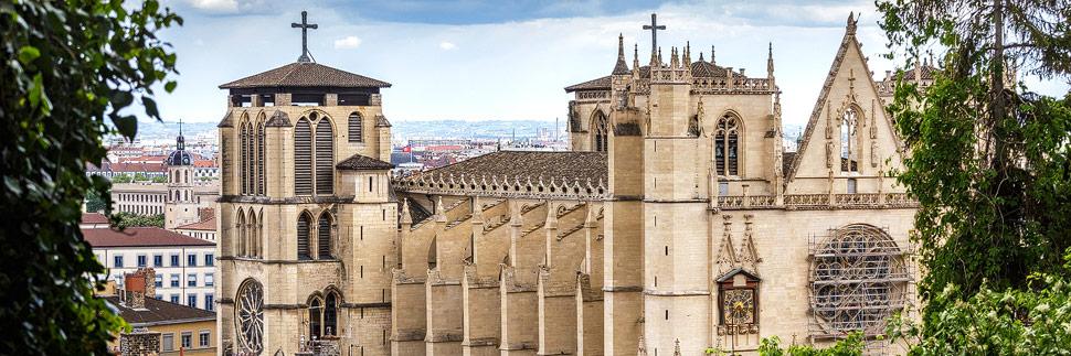 Cathédrale Saint-Jean-Baptiste in Lyon