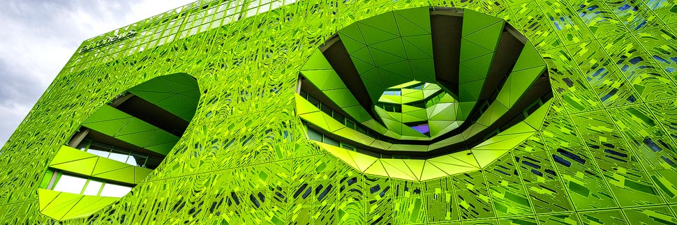 Moderne Architektur in Lyon