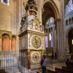 Astronomische Uhr in der Cathédrale Saint-Jean-Baptiste in Lyon