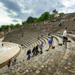 Das große Amphitheater in Lyon
