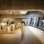 Innenansicht des Museums LUGDUNUM Musée & Thèâtres romains in Lyon