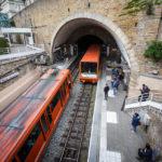 Station Minimes – Théâtres Romains der Standseilbahn F1