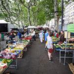Der Markt Marché Saint-Antoine Célestins in Lyon