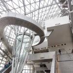 Innenansicht des Musée des Confluences in Lyon