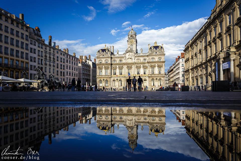 Rathaus (Hôtel de ville) am Place des Terreaux in Lyon