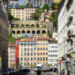Blick auf den Lyoner Stadtteil Saint-Georges