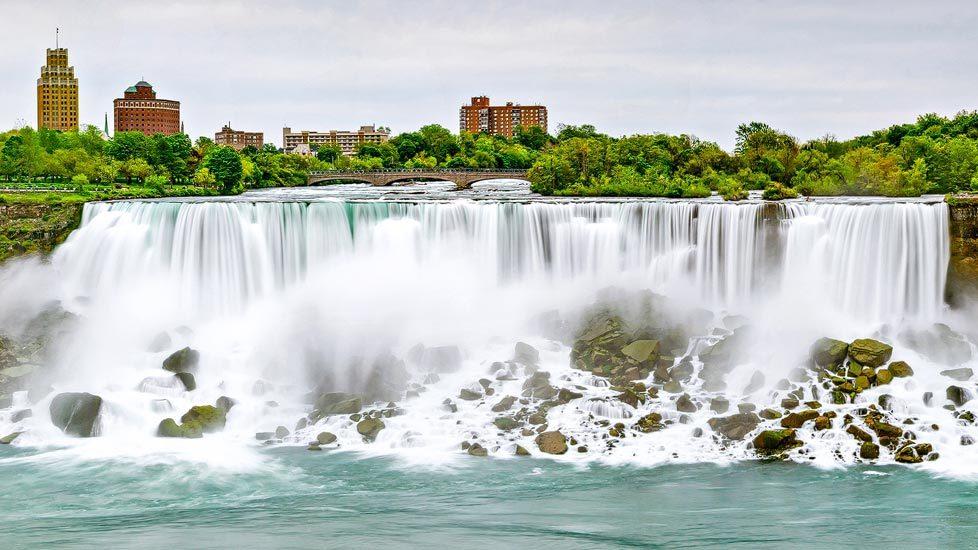 American Falls bei den Niagarafällen