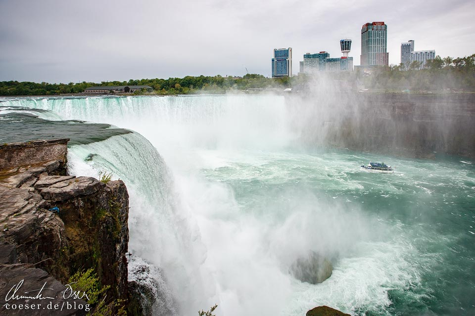 Horseshoe Falls bei den Niagarafällen