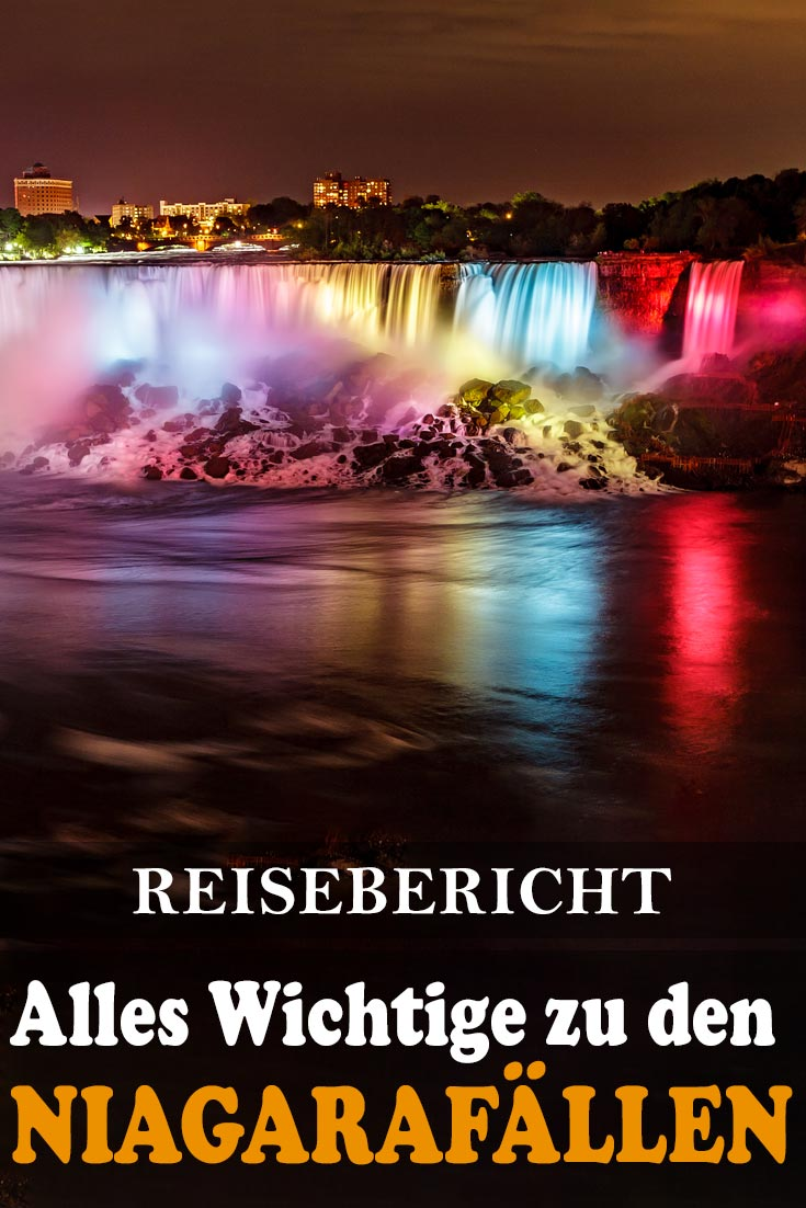 Niagarafälle (Niagara Falls): Reisebericht mit Erfahrungen zu Sehenswürdigkeiten, den besten Fotospots sowie allgemeinen Tipps.