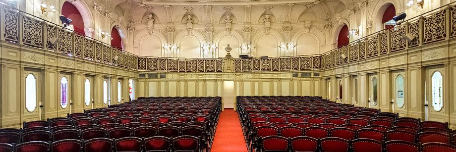 Festsaal im Billrothhaus in Wien