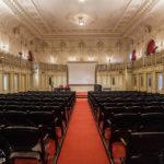 Der Festsaal im Billrothhaus während Open House Wien 2018