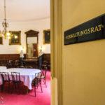 Ein Sitzungszimmer im Billrothhaus während Open House Wien 2018