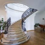 Die Prunkstiege im italienischen Kulturinstitut während Open House Wien 2018