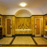 Badezimmer aus dem 19. Jahrhundert im italienischen Kulturinstitut während Open House Wien 2018