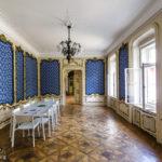 Der Blaue Saal im italienischen Kulturinstitut während Open House Wien 2018