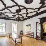 Der Braune Saal im italienischen Kulturinstitut während Open House Wien 2018
