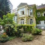 Gartenanlage im italienischen Kulturinstituts während Open House Wien 2018