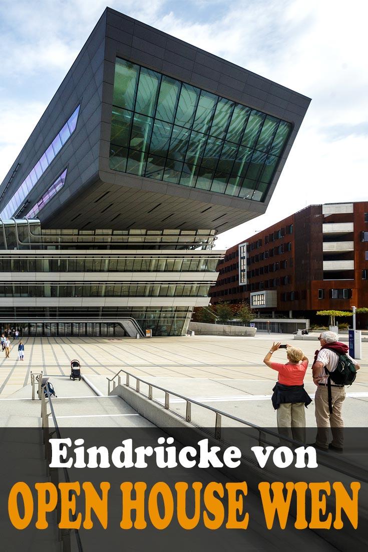 Open House Wien 2018: Erfahrungsbericht zum Ringturm, Wohnpark Alterlaa, WU Campus Library and Learning Center, Italienisches Kulturinstitut, Billrothaus