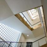 Das Treppenhaus des Ringturms während Open House Wien 2018