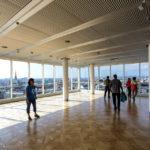 Das Dachgeschoss mit Ausblick über Wien im Ringturm während Open House Wien 2018