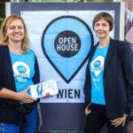 Die Open-House-Organisatorinnen Ulla Unzeitig und Iris Kaltenegger