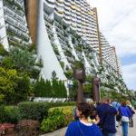 Führung durch den Wohnpark Alterlaa während Open House Wien 2018