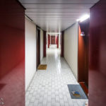 Innenansicht des Wohnparks Alterlaa während Open House Wien 2018