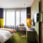 Doppelzimmer im 25hours Hotel Zürich West