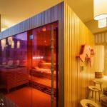 Wellnessbereich im 25hours Hotel Zürich West