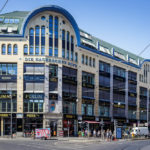Außenansicht der Hackeschen Höfe in Berlin